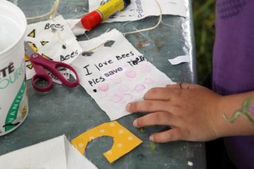 Faerie Camp, Prayer Flags, Oona McOuat, Salt Spring Island, oonamcouat.com