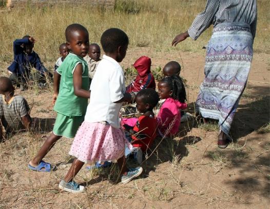 Preschool teacher, Masango, Seke, Zimbabwe, One World, One Heart Beating